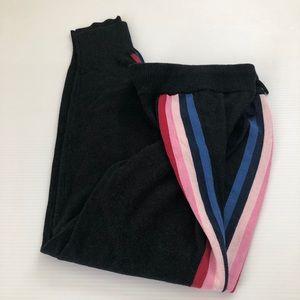 Spiritual Gangster Pants & Jumpsuits - Spiritual Gangster NWOT Track Stripe Knit Jogger L